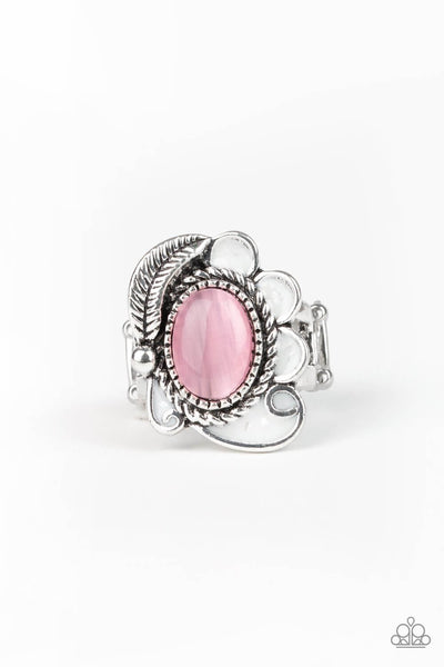 Paparazzi Fairytale Magic - Pink Ring - Princess Glam Shop