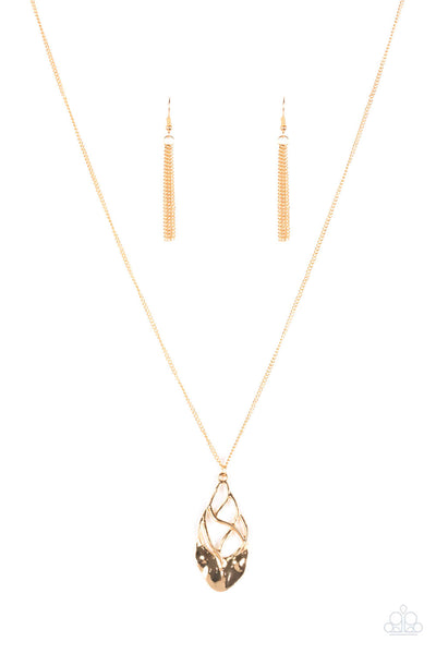 Paparazzi Swank Bank - Gold Necklace Set - Princess Glam Shop