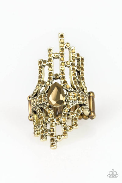 Paparazzi Modern Muse - Brass Ring - Princess Glam Shop