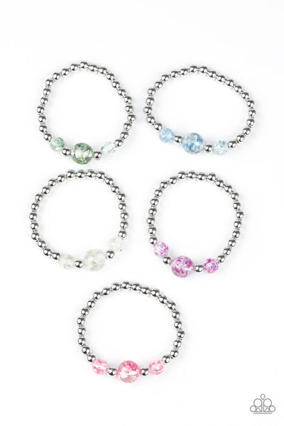 Paparazzi Starlet Shimmer Glassy Bead Bracelet Bundle - Princess Glam Shop