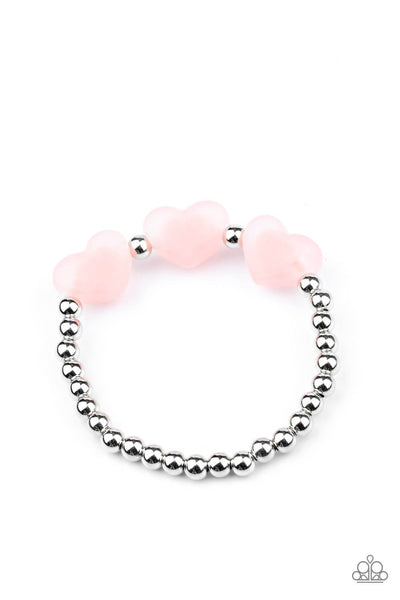 Paparazzi Frosted Heart Children's Bracelet Bundle Set - Princess Glam Shop
