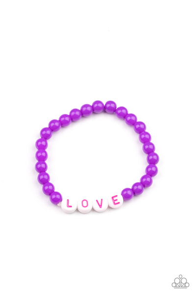 Paparazzi Love Is The Message Children's Bracelet Bundle Set - Princess Glam Shop