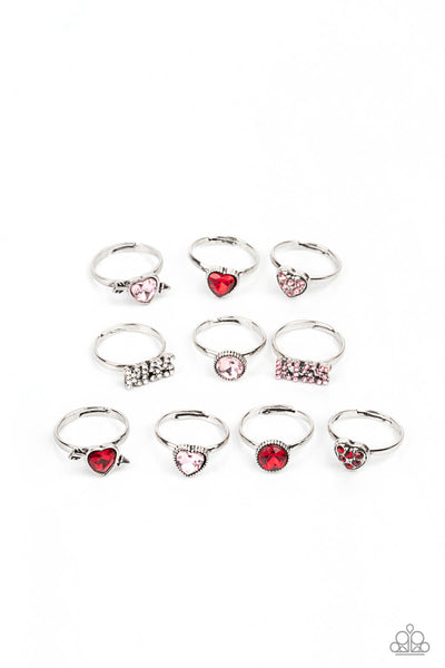 Paparazzi Starlet Shimmer V-Day Children's Ring Bundle - Princess Glam Shop