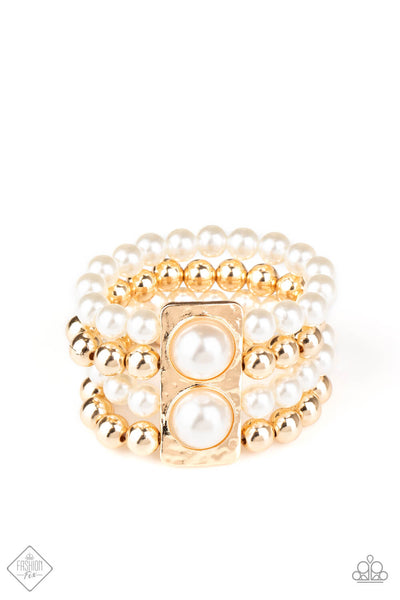 COMING SOON Paparazzi WEALTH-Conscious - Gold Bracelet - Princess Glam Shop