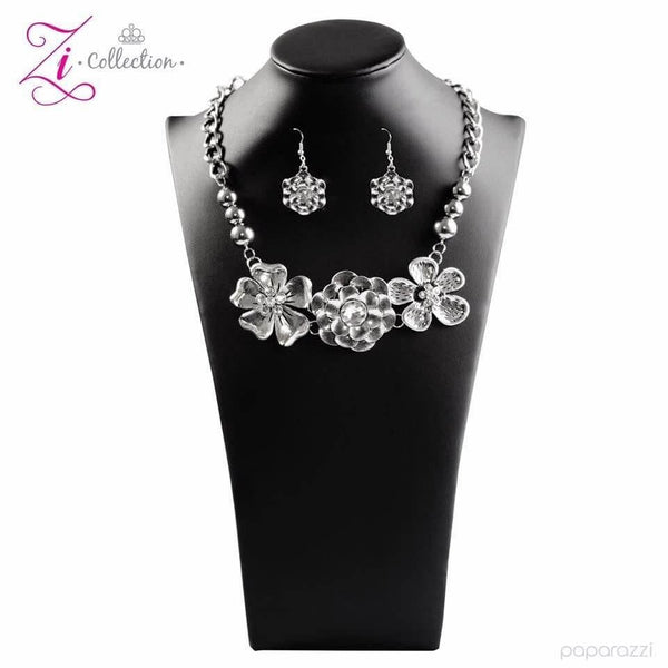 Paparazzi Abloom - 2017 Zi Collection Necklace Set - Retired - Princess Glam Shop