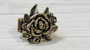 Paparazzi Bouquet Bonanza - Brass Ring - Princess Glam Shop