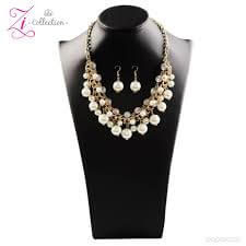 Paparazzi Idolize - 2017 Zi Collection Necklace Set - Retired - Princess Glam Shop