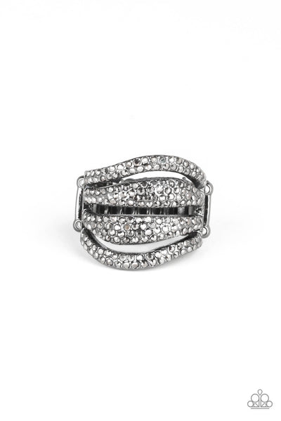 Paparazzi Roll Out The Diamonds Life of the Party Exclusive Ring - PrincessGlamShop