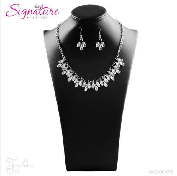 Paparazzi The Chris - 2017 Signature Zi Collection Necklace Set - Retired - Princess Glam Shop