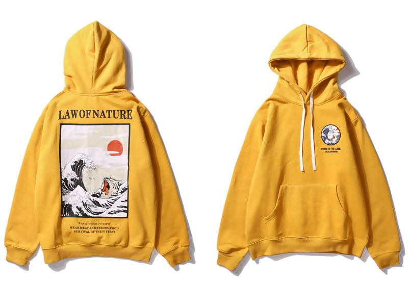 """Law Of Nature"" Hoodie - activ8te"