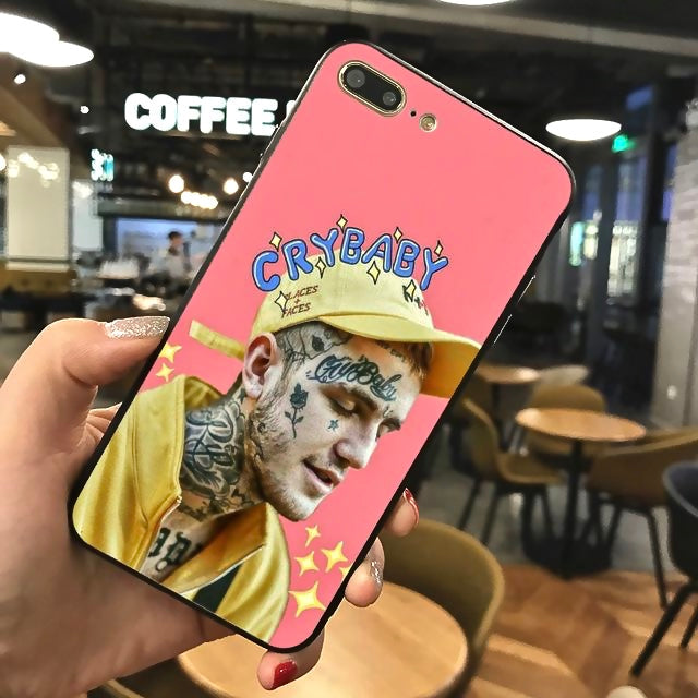 """Lil Peep"" iPhone + Samsung Case - activ8te"