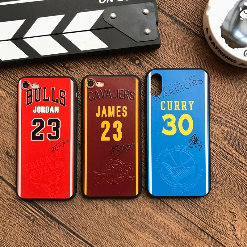 NBA Jersey iPhone Case - activ8te