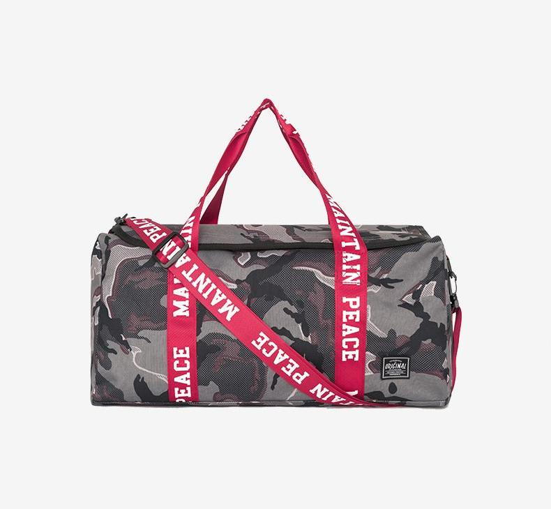 "Camo ""Maintain Peace"" Duffle - activ8te"