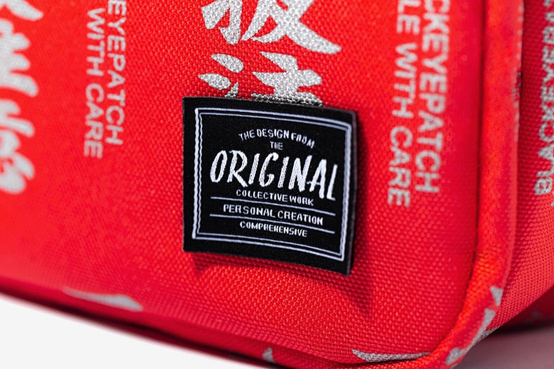 "Chinese ""Symbols"" Messenger Bag - activ8te"