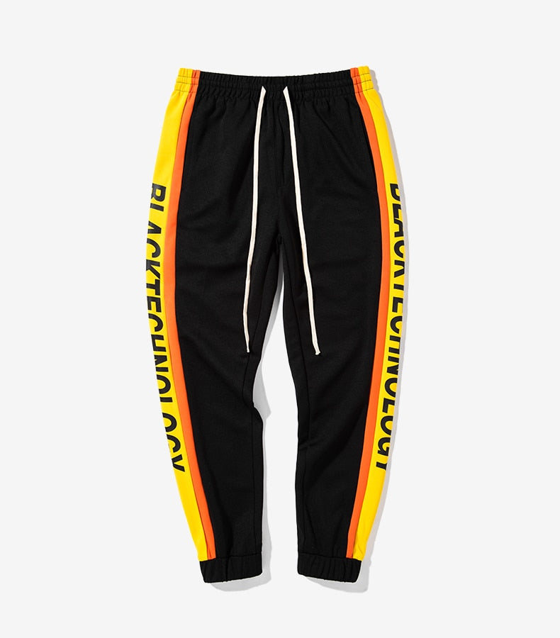 """BlackTechnology"" Joggers - activ8te"