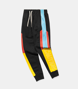 "Multi-Color ""Caution"" Joggers - activ8te"
