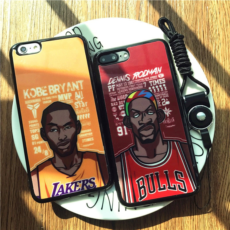 """NBA Toon"" iPhone Case - activ8te"