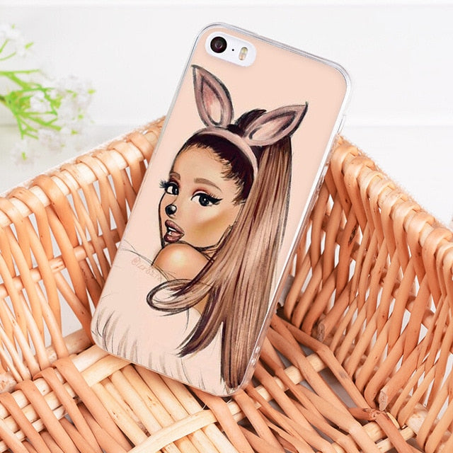 """Ariana Grande"" iPhone Case - activ8te"