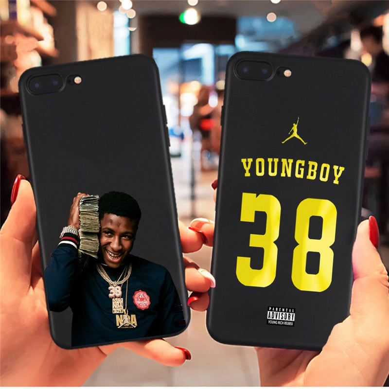 """NBA YoungBoy"" iPhone Case - activ8te"