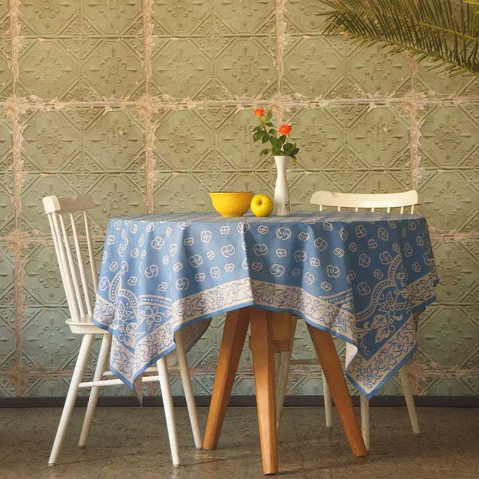 XII century - Georgian Traditional Blue Tablecloth
