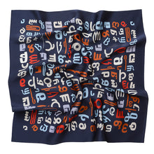 Load image into Gallery viewer, Silk scarf - Vin