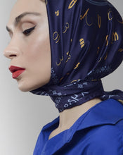 Load image into Gallery viewer, Silk scarf - Borjgalo