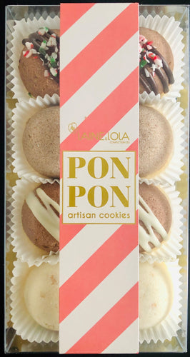8pcs PONPON Cookie Box - Holiday Collection Flavour Assortment