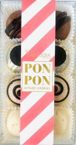 8pcs PONPON Cookie Box - Popular Collection Flavour Assortment