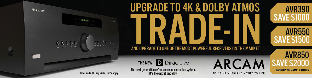 Arcam trad in offer