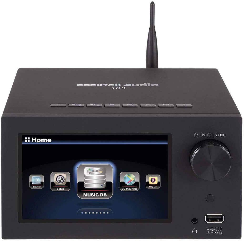 Cocktail Audio X14 CD Ripper, Music Server & Streamer + 2TB HDD