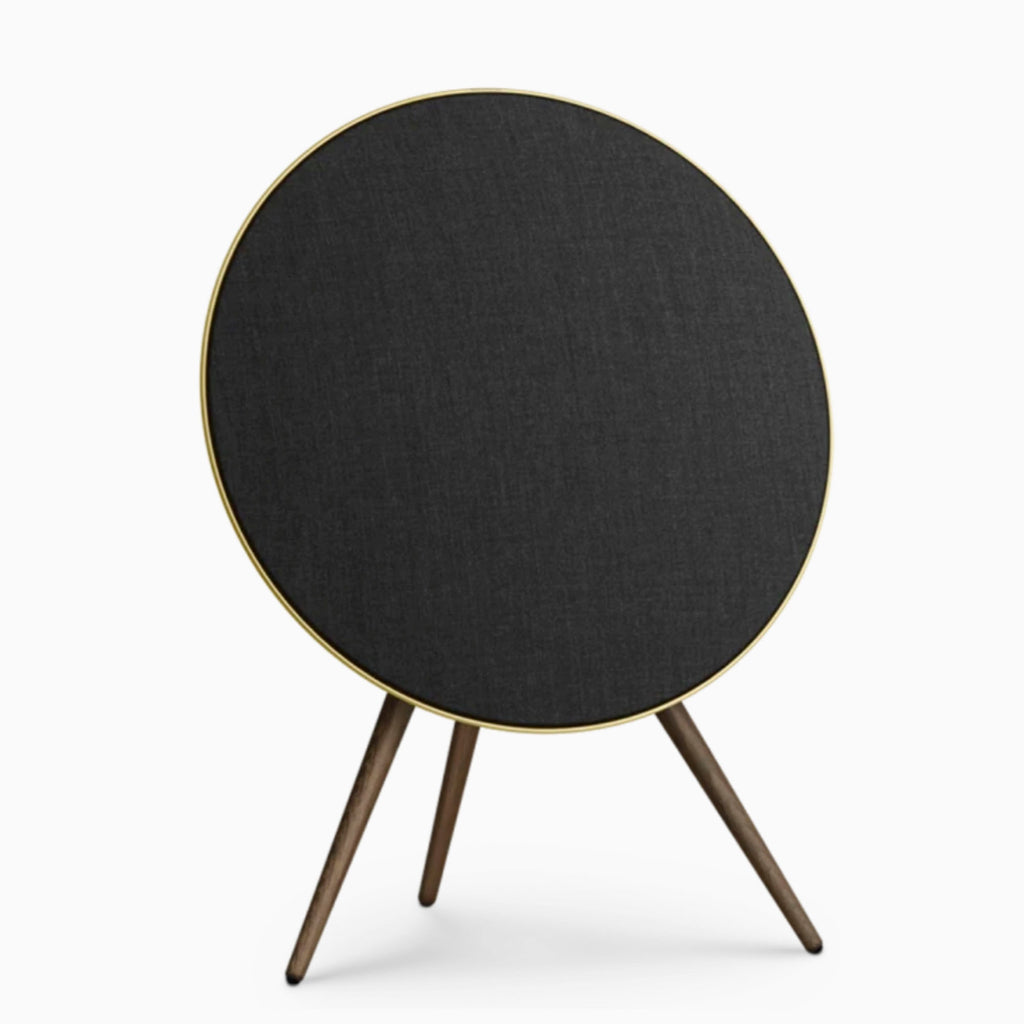 Bang & Olufsen A9 4th Generation - Brass with Smoked Oak legs