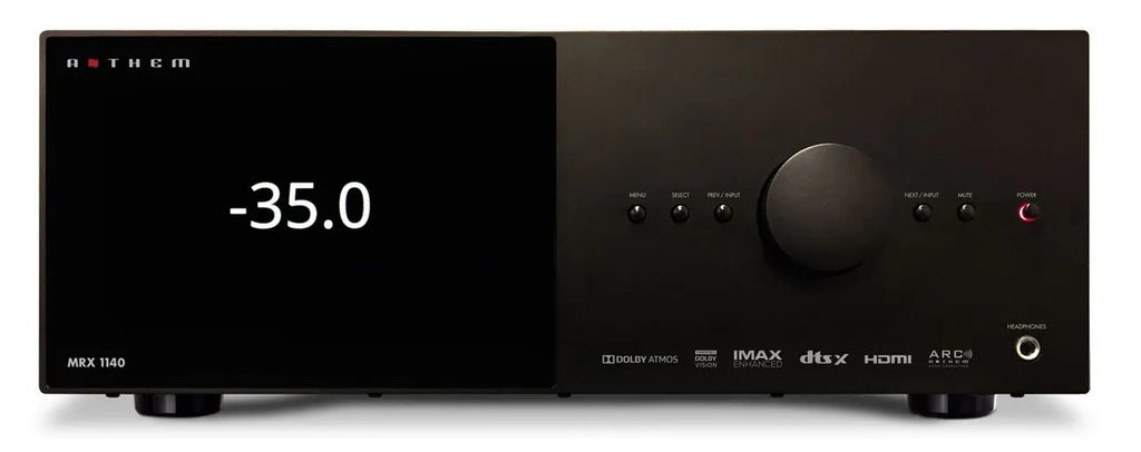 Anthem MRX 1140 15.2 AV Receiver with 11 Channels built-in (Due mid March 2021)