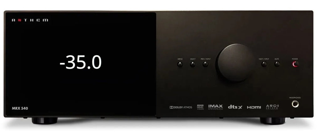 Anthem MRX 540 7.2 AV Receiver with 5 Channels built-in (Due mid March 2021)