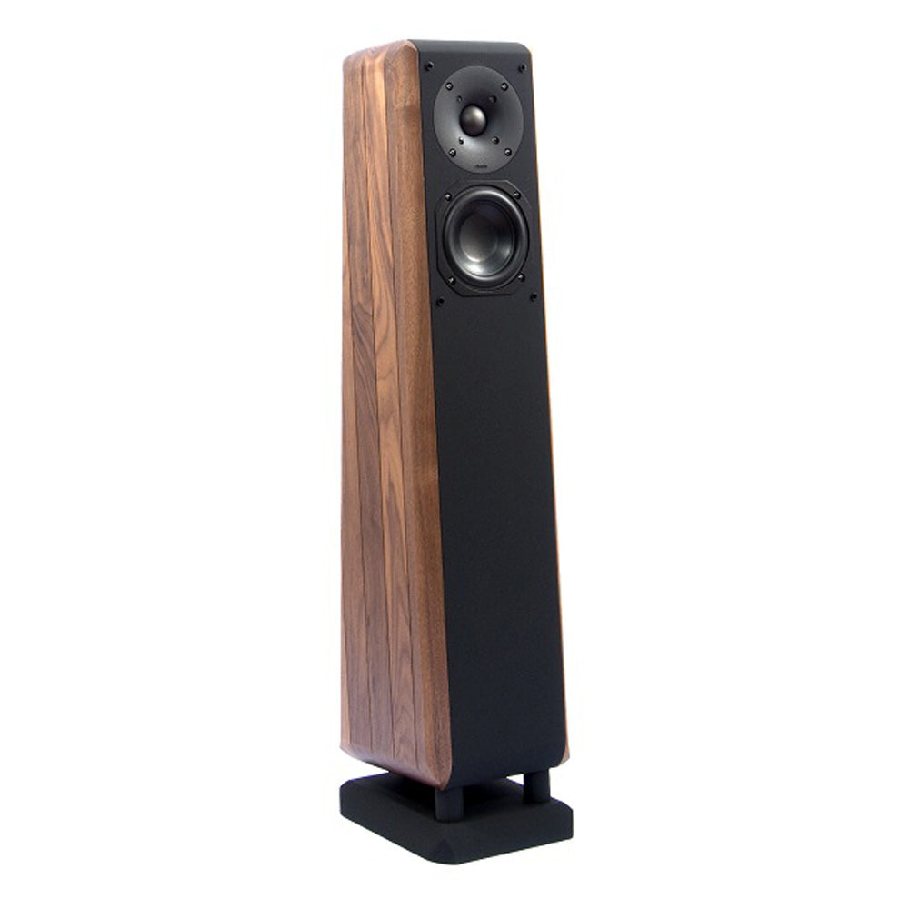 Chario Floorstanding Speakers Cygnus II Walnut