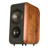 Chario Bookshelf Speakers Nobile Walnut