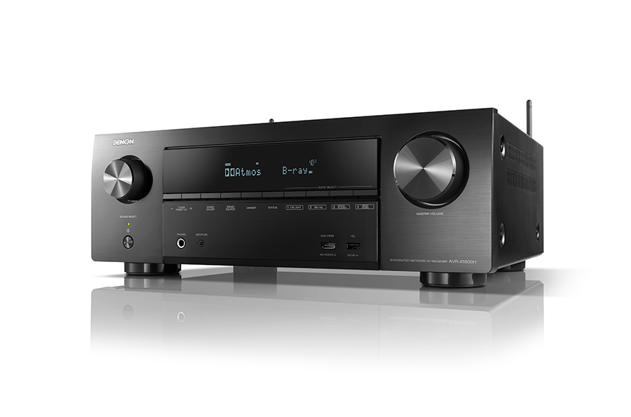 Denon AVR-X1600H 7.2 channel AV Receiver