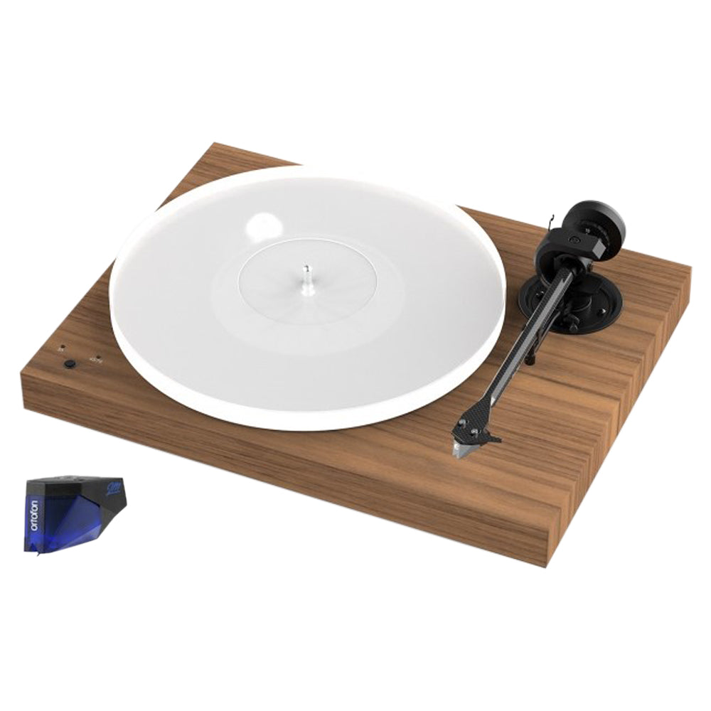 Project X1 Turntable - with Ortofon 2M Blue - Walnut