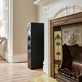 Bowers & Wilkins 603 S2 Anniversary Edition Floorstanding Speakers - Matte Black