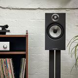 Bowers & Wilkins 606 S2 Anniversary Edition Bookshelf Speakers - Matte Black