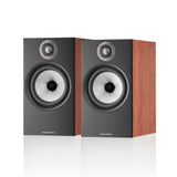 Bowers & Wilkins 606 S2 Anniversary Edition Bookshelf Speakers - Cherry Red