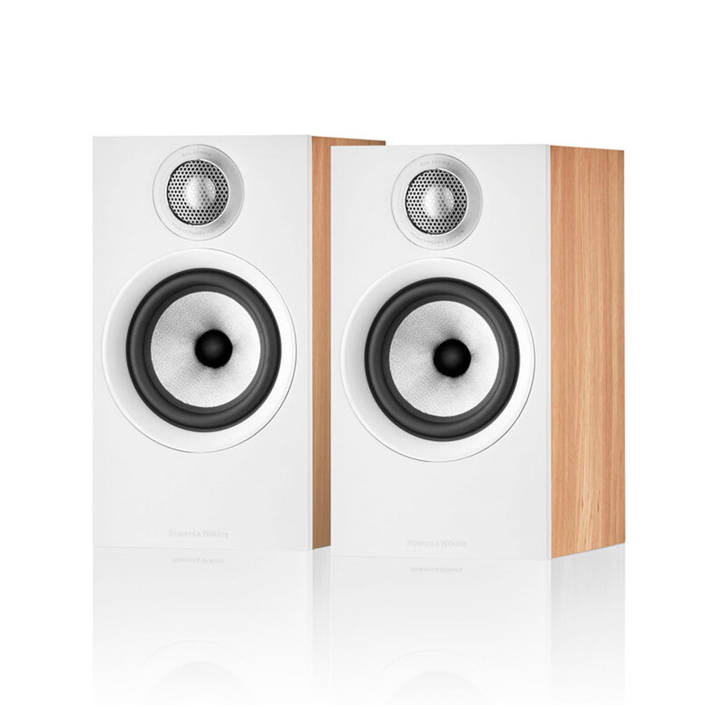 Bowers & Wilkins 607 S2 Anniversary Edition Bookshelf Speakers - Oak