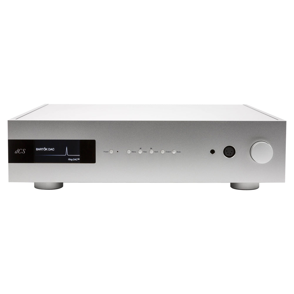 dCS Bartok Upsampling Network Streamer/DAC w/Headphone Amplifier - Silver