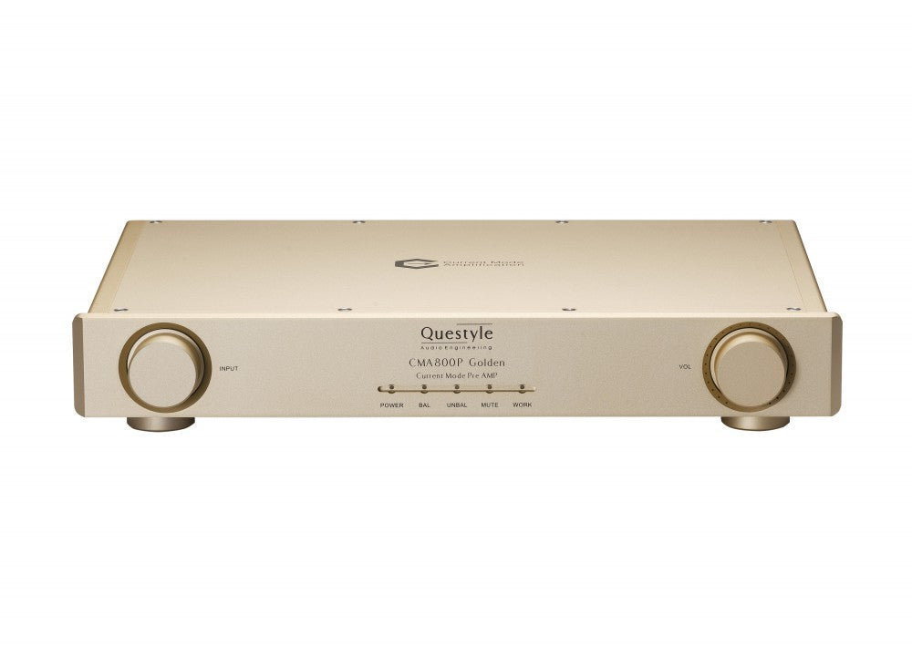 Questyle CMA800P Golden Highend Headphone Preamplifier