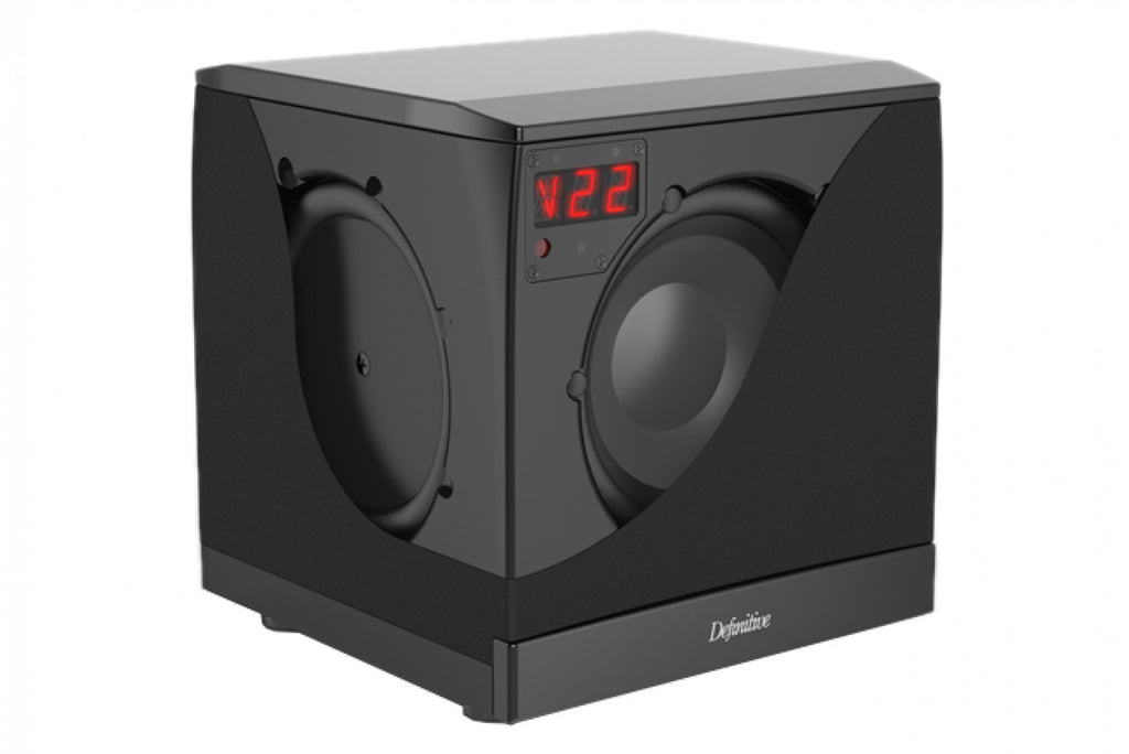 Definitive Technology SuperCube 4000 8 Inch Powered Compact Subwoofer