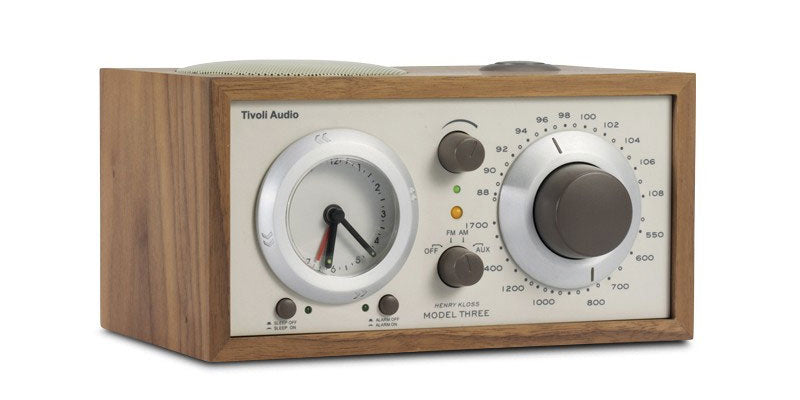 Tivoli Audio Model Three BT AM/FM Clock Radio