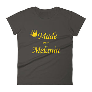 Melanin- Women's short sleeve t-shirt