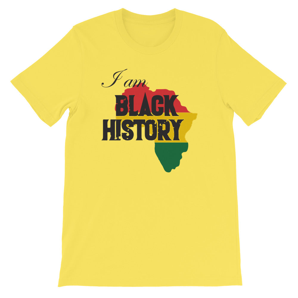 I Am Black History - Unisex T-Shirt