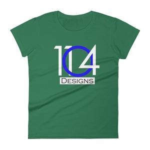 1104 - Logo - Women's short sleeve t-shirt