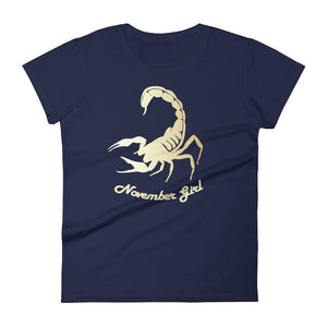 Scorpio - November Girl - Women's short sleeve t-shirt