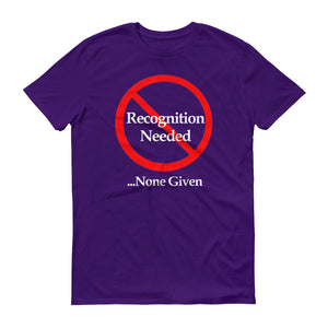 No Recognition -  Men's Short-Sleeve T-Shirt